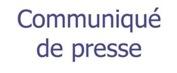 Communique de presse logo