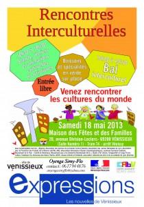AFFICHE OYENGA SIMY-FLO rencontres interculturelles