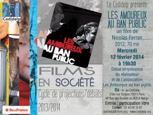 Affiche films en societe_Amoureux ban public