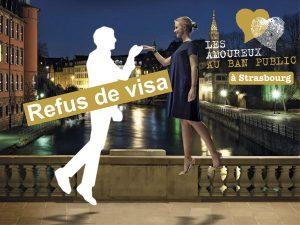 refus de visa Strasbourg mon amour