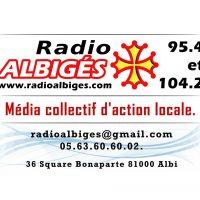 Le collectif des Amoureux au ban public d'Albi en direct sur Radio Albigés - 7/11/2017